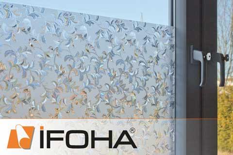 60cm X 200cm DUOFIRE Pellicola per Finestre Vetri Pellicola Privacy Pellicola Decorativa Pellicola Anti-UV DP014W