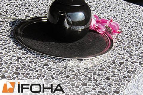 Ifoha nappe transparente d cor e premium tsf842510 - Nappe transparente pour table en verre ...