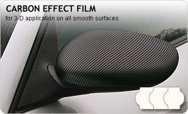 carwrapping-film special effect black CARBON HX30SDA890B, PREMIUM