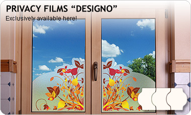 window film privacy with print DESIGNO, PREMIUM