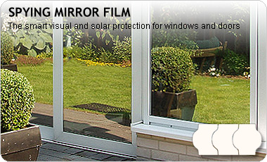 spy mirror film silver, PREMIUM