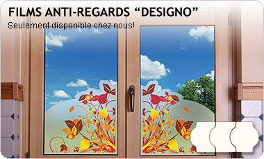 Film anti-regards avec impression DESIGNO, Premium