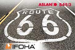 Film pochoir pour asphalte ASLAN S41/3