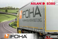 Lámina para plantillas para materiales textiles ASLAN S380