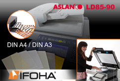 Ensemble 10pc film imprimable pour laser ASLAN LD 85-90
