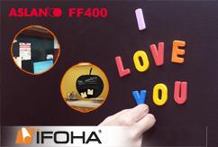 Film autocollant ferromagnétique ASLAN FF400