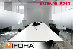 Film anti-regard dépolis forte ASLAN E210