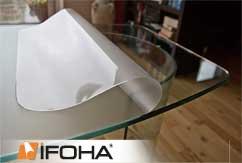Film de protection pour table mat autocollant 0.125mm