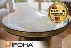 Nappe PVC 2mm optique laiteuse