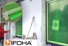 Film de protection vert transparent 50cm
