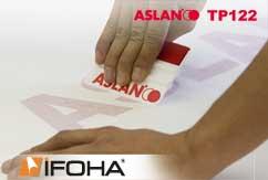 Aplicación tape ASLAN TP 122