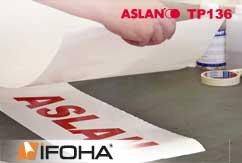 Aplicación tape ASLAN TP 136