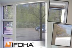 Rouleau de protection solaire translucide SOLARA Basic