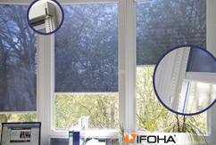 Rouleau de protection solaire translucide SOLARA Smart