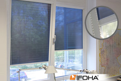 Rouleau de protection solaire translucide SOLARA OV40