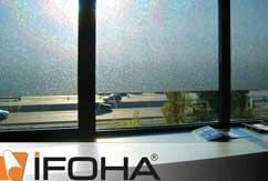 Film pour fenêtre <SQUARE> adhésif statique amovible