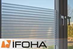 Pellicola per finestre <STRIPES> ad adesione statica rimovibili
