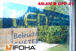 Lámina impresa a la plantilla propia transparente ASLAN 11741 DPE