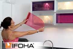 Film coloré clair autocollant <Fuchsia>