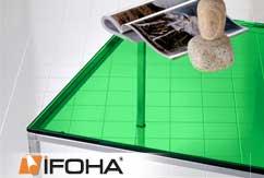 Lámina de color clara autoadhesiva <Verde menta>