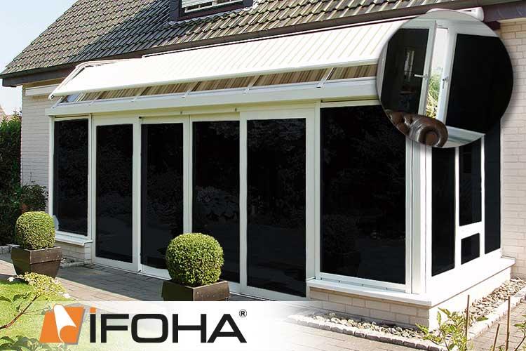 Ifoha pellicole oscuranti nero premium 6001020 - Pellicole oscuranti finestre ...