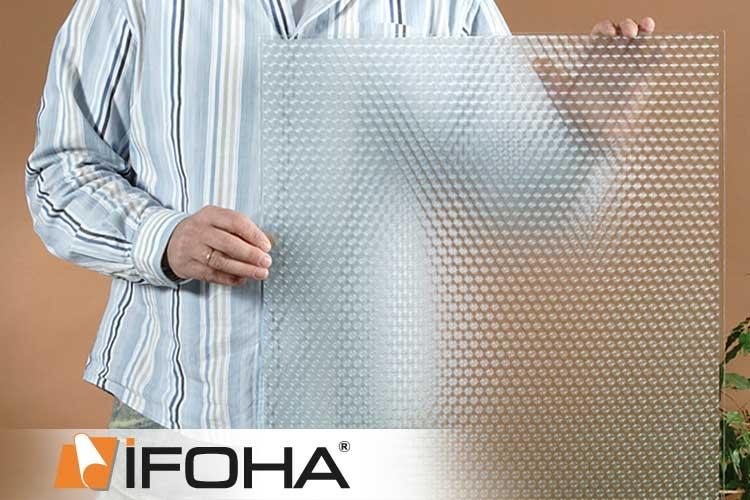 ifoha sichtschutz folie f r fenster spirea design aslan sf250 premium 6003001 shop f r folie. Black Bedroom Furniture Sets. Home Design Ideas